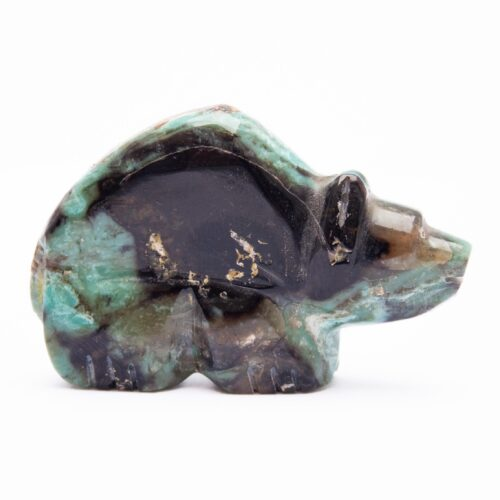 Debra Gasper Turquoise Zuni Bear Carving