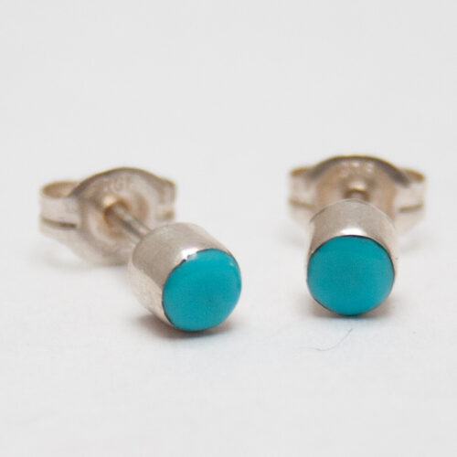 Native American Turquoise Studs