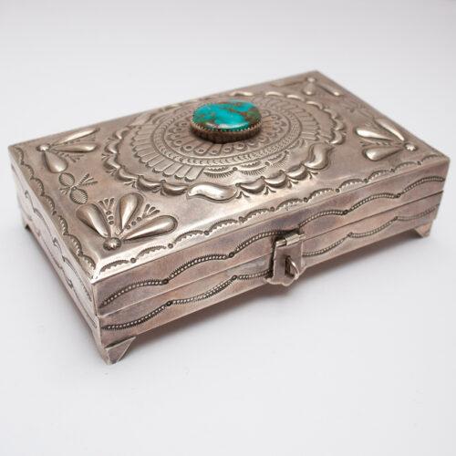 Suzie James Silver Box