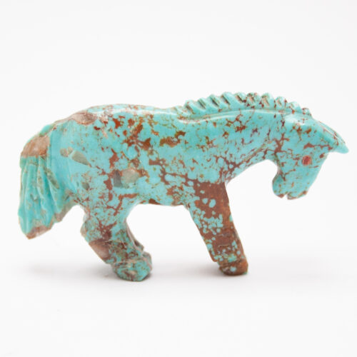Quandalacy Turquoise Horse Carving