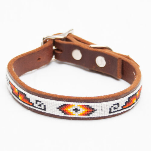 Zuni Beaded Dog Collar