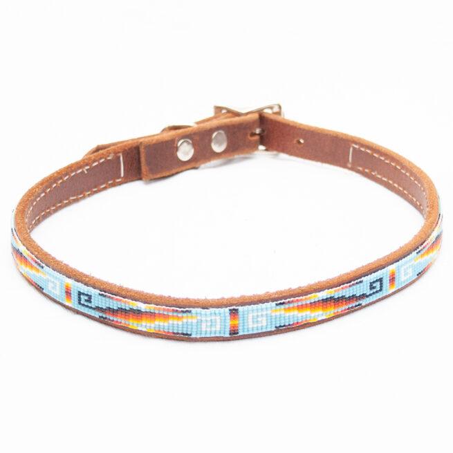 Large Beaded Dog Collar