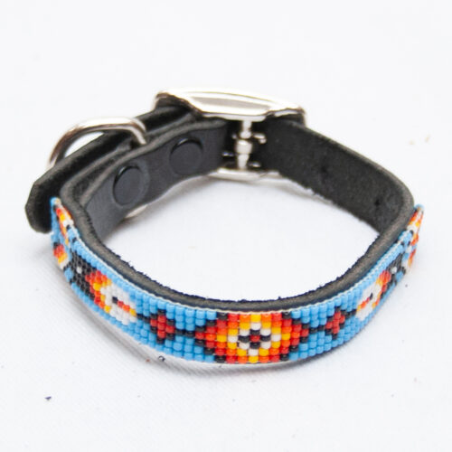 Small Beaded Dog Collar