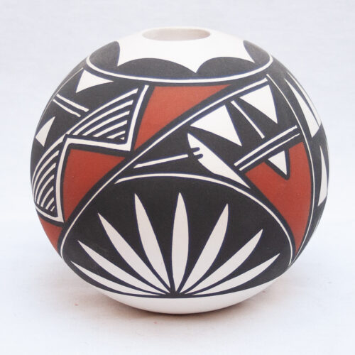Native Acoma Painted Pottery