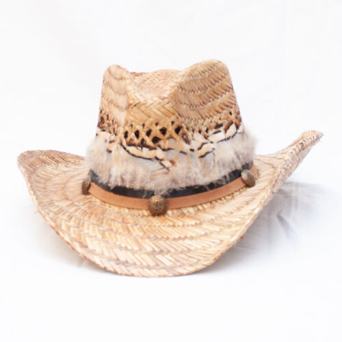 White Grouse Feather Hat