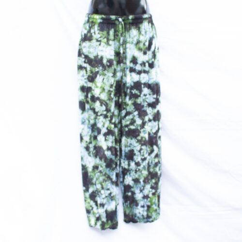 Green Tie-Dye Trousers L/XL