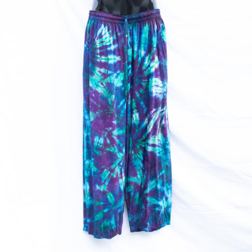 Purple Tie-Dye Trousers 2XL