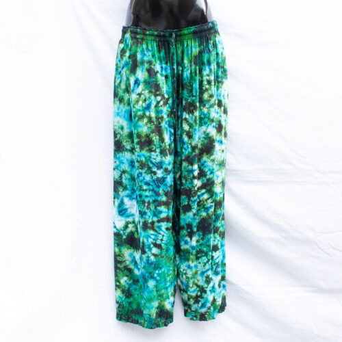 Green Tie-Dye Trousers 2XL