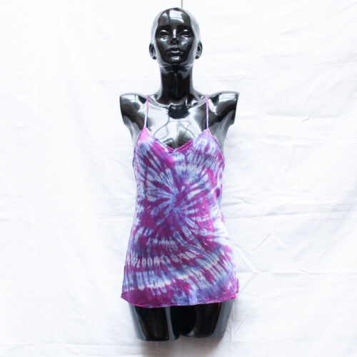 Purple Tie-Dye Top S