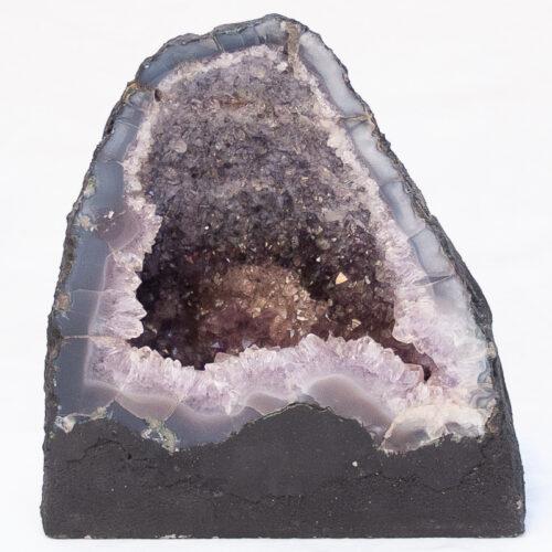 Purple Brazilian Amethyst Geode