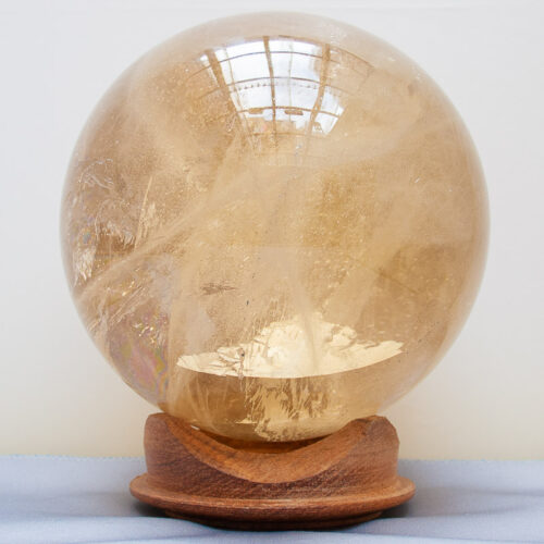Citrine Crystal Ball