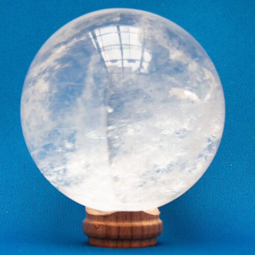 Small Quartz Crystal Ball