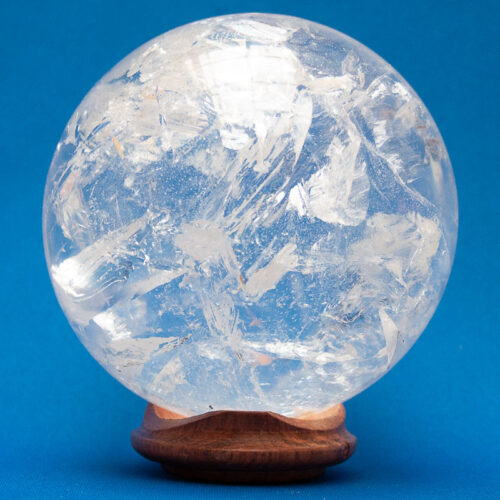Clear Quartz Crystal Ball