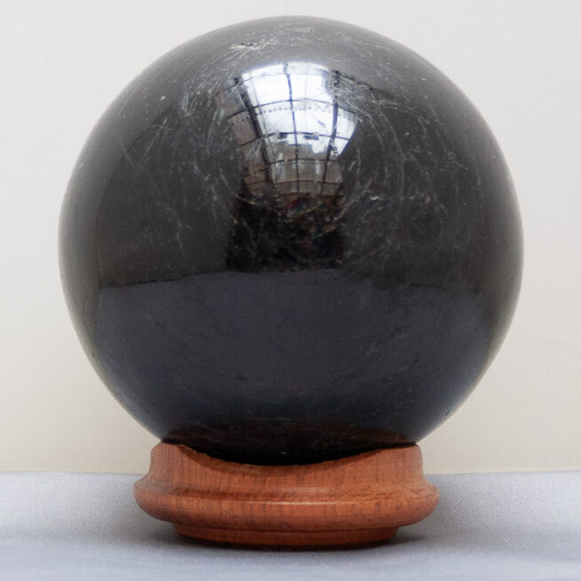 Black Tourmaline Crystal Ball