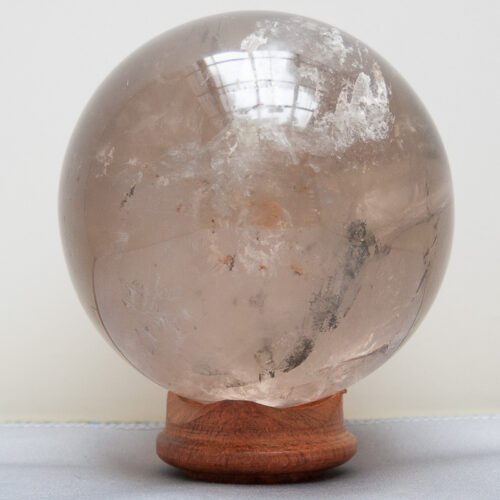 Smoky Quartz Crystal Ball