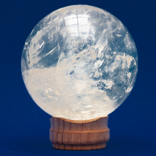 Golden Calcite Crystal Ball