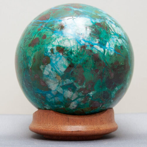 Chrysocolla Malachite Crystal Ball