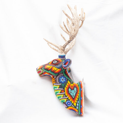 Large Huichol Beaded Elk