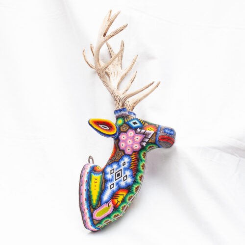 Huichol Beaded Elk