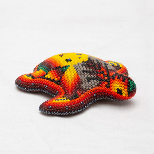 Huichol Red Baby Turtle