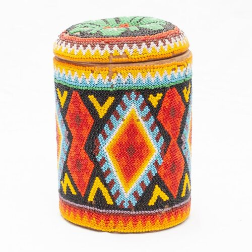 Huichol Beaded Box