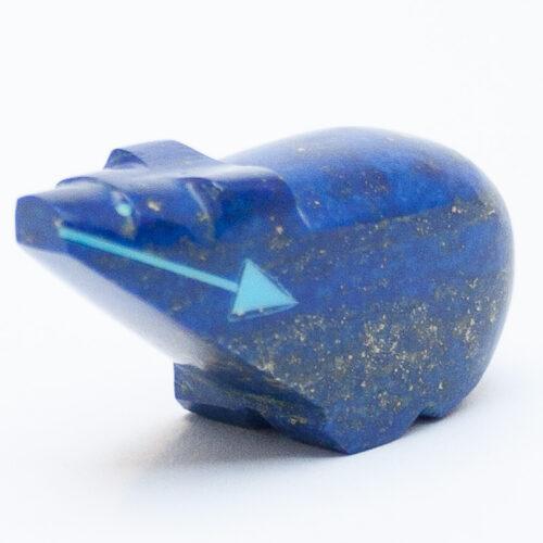 Lapis Lazuli Bear Fetish