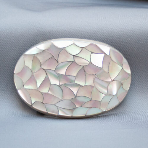 Mother-of-Pearl Belt Buckle