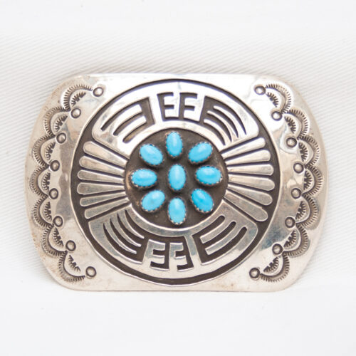 Rosco Scott Turquoise Buckle