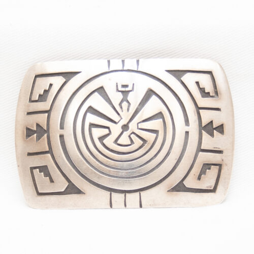 Man in the Maze Buckle