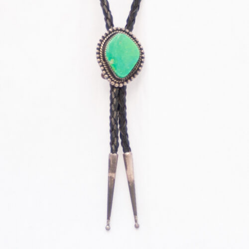 Green Turquoise Bolo Tie