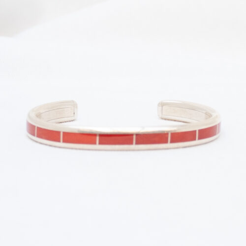 Larry Loretto Red Coral Bracelet