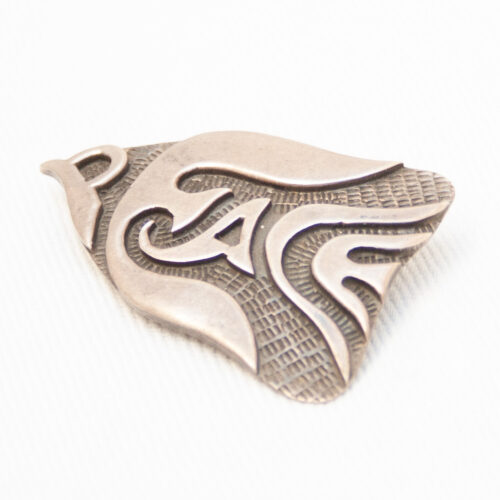 Silver Fish Brooch