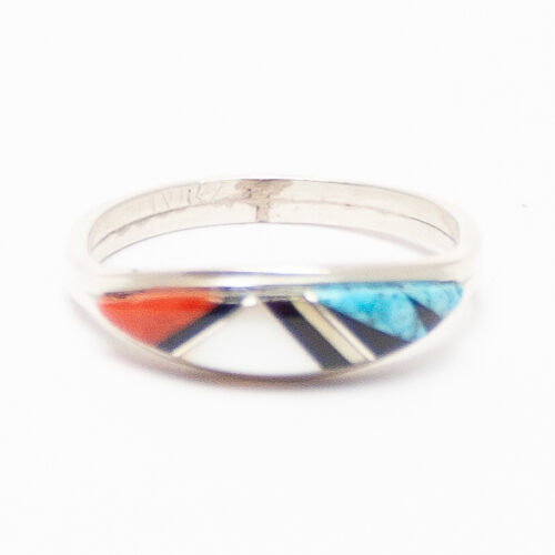 Kallestewa Inlay Zuni Ring