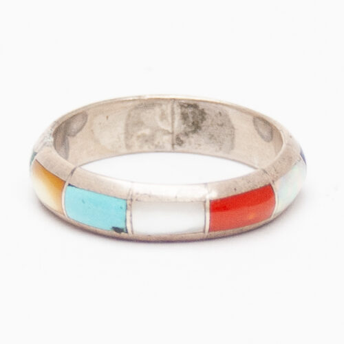 Zuni Multicolour Ring Band