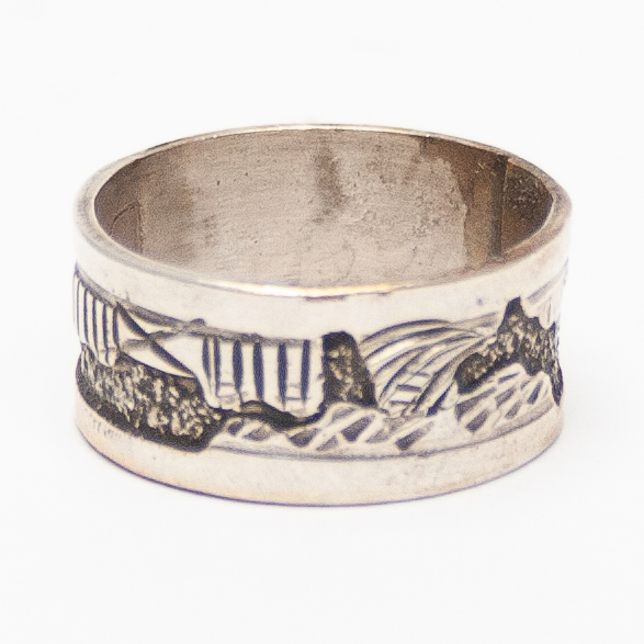 Native American Landscape Ring
