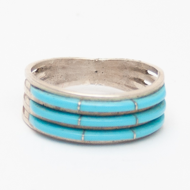 Triple Row Turquoise Ring