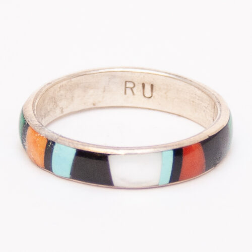 Ukestine Multistone Inlay Ring