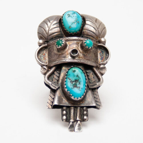 Old Kachina Turquoise Ring