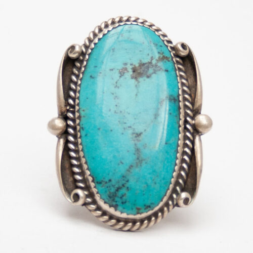 Tom Ronal Turquoise Ring