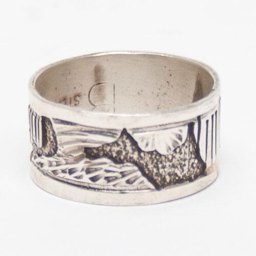 Southwest Landscape Silver Ring