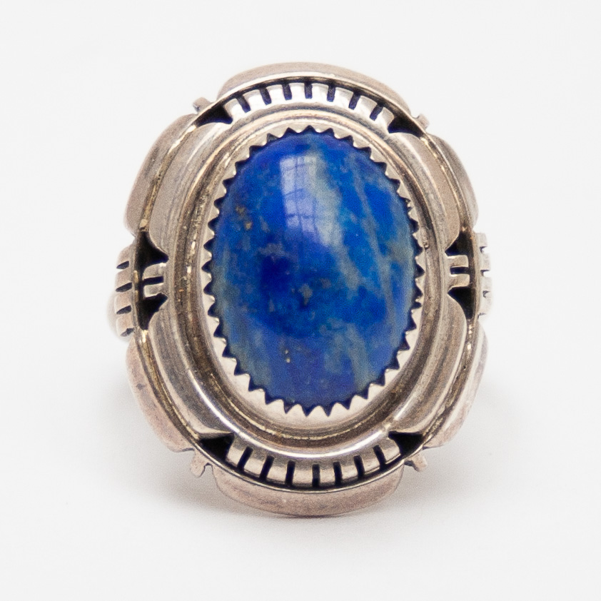 Native American Lapis Ring