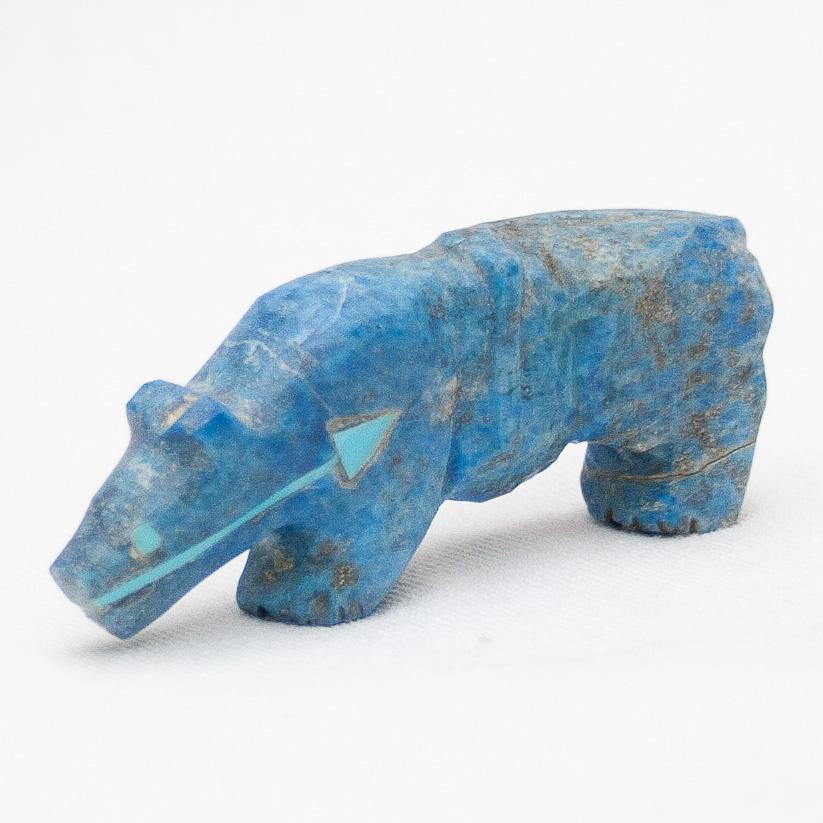 Andres Quandelacy Lapis Jaguar Carving