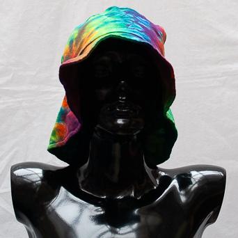 Rainbow Tie-Dye Hat Large
