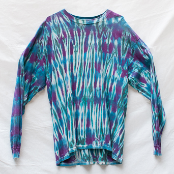 Blue Purple Long-Sleeve XL
