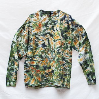 Green Brown Long-Sleeve XL