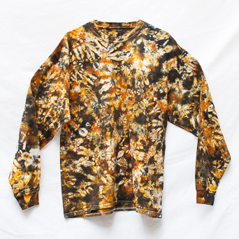 Yellow Brown Long-Sleeve XL