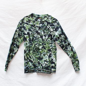 Camouflage Long-Sleeve Top M