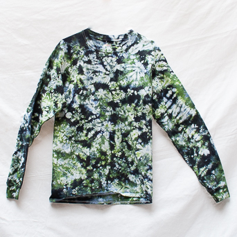 Camouflage Tie-Dye Top M