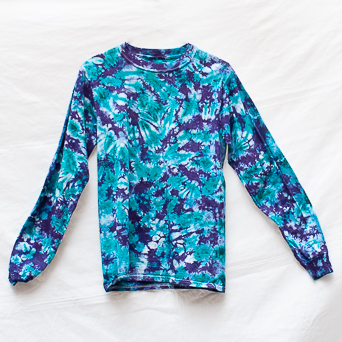 Blue Long-Sleeve T-Shirt S