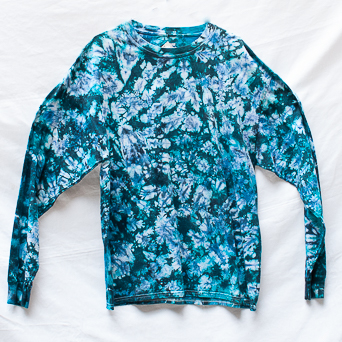 Blue Long-Sleeve Size XL